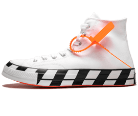 Your size Nike Off-White Chuck 70 Hi / OW White Black