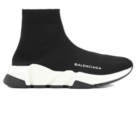 For sale Balenciaga Speed Trainers MID Black White Black