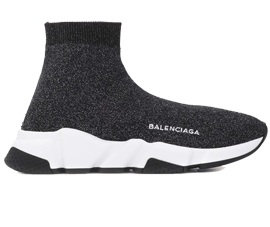 Price of New Balenciaga Speed Trainers Mid Gray sneakers