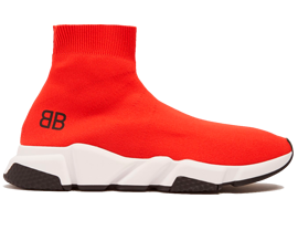 Order New Balenciaga Speed Trainers Mid Red sneakers