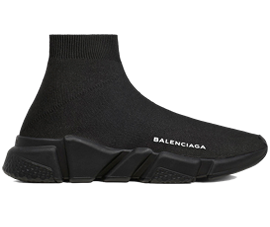 Price of Cheap Balenciaga Speed Trainers Mid Black sneakers online