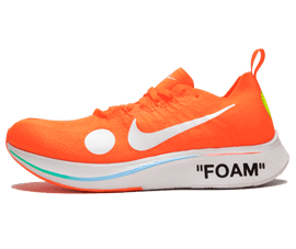 Order Nike Off-White Zoom Fly Mercurial Orange / OW sneakers online