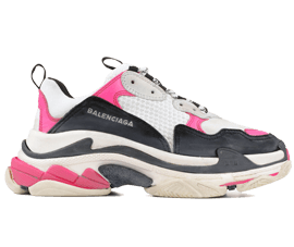 Your size Balenciaga Triple S Trainers PINK / Black