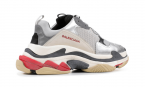 Balenciaga TRIPLE S TRAINERS - Sliver / black / red