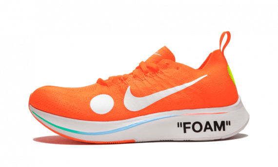 For sale Your size Nike Off-White Zoom Fly Mercurial Orange / OW sneakers