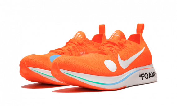 How to get Womens Nike Off-White Zoom Fly Mercurial Orange / OW sneakers