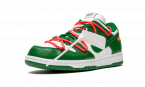 Nike Dunk Low Off White - Pine Green