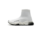 Balenciaga Speed Clear Sole White Black