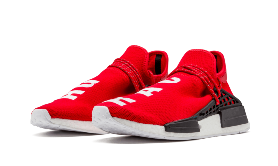 How to get Womens Human Race Adidas HU Scarlet / PW